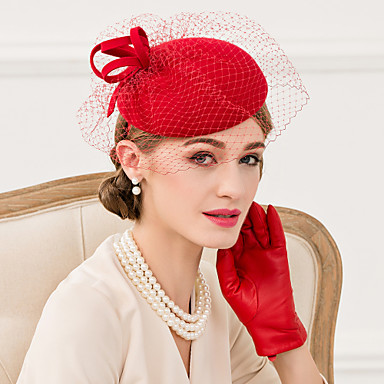 lã net fascinators hats headpiece classical feminine style