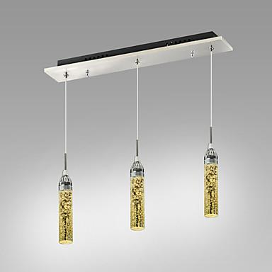 Unterputz ,  Zeitgenössisch Chrom Eigenschaft for Kristall LED Metall Wohnzimmer Schlafzimmer Esszimmer Studierzimmer/Büro