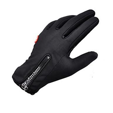 Sporthandschuhe Fahrradhandschuhe warm halten Windundurchlässig Anatomisches Design Feuchtigkeitsdurchlässigkeit Atmungsaktiv Wasserdicht