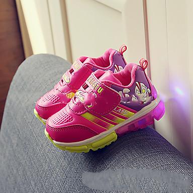 女の子 靴 レザーレット 冬 スノーブーツ アスレチック・シューズ ウォーキング フラットヒール ベックル アニマルプリント 用途 イエロー レッド ピンク