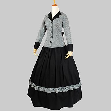 Klassinen ja Perinteinen Lolita Viktoriaaninen Naisten Asut Cosplay Lyhythihainen