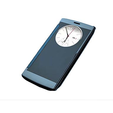 Etui Til LG LG G4 Etui til LG med vindu Belegg Heldekkende etui Helfarge Hard Akryl til
