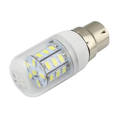 300 lm B22 LEDコーン型電球 T 27 LEDの SMD 5730 装飾用 温白色 クールホワイト AC85-265V