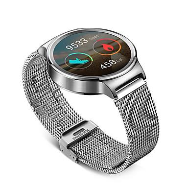 Pulseiras de Relógio para Huawei Watch / WiThings Activité / WiThings Activité Pop Huawei / Withings Pulseira Estilo Milanês Aço Inoxidável Tira de Pulso