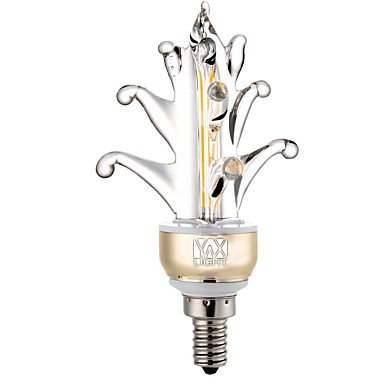 YWXLIGHT® 1pc 5 W 400-500 lm E12 2 LED perler COB Dekorativ Varm hvit / Kjølig hvit 110 V / 1 stk. / RoHs