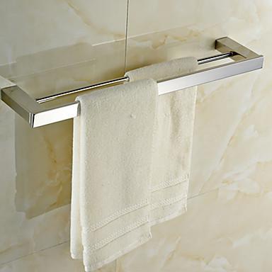 Handtuchhalter Gute Qualität Moderne Edelstahl 1 Stück - Hotelbad 2-Turm-Bar
