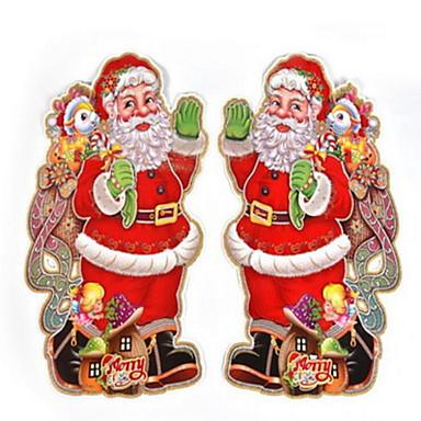 Lomatuotteet Joulukoristeet Joulujuhlatarvikkeet Lomatarvikkeet Joulupukki-asu Paperi Hopea