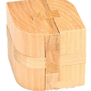 ウッドパズル 頭の体操/ 知恵の輪 木製立体パズル おもちゃ サーキュラー おもちゃ IQテスト ウッド 男の子 女の子 1 小品