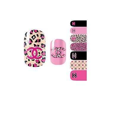 3D Nail Stickers Abstrakti/Lovely/Häät - Sormi - 10*7*0.1 - 1