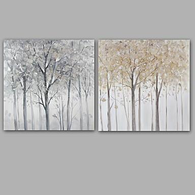 手描きの 風景 方形, クラシック 近代の キャンバス ハング塗装油絵 ホームデコレーション 1枚