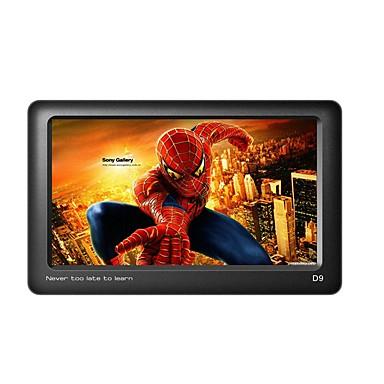 uniscom mp3 / mp4 4.3inch berøringsskjerm HD video spiller støtte e-bok lesing