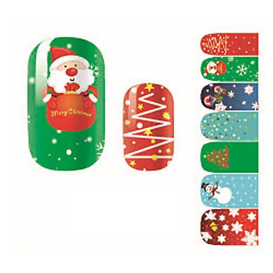 Nail Art tarra 3D Nail Stickers Sarjakuva Lovely meikki Kosmeettiset Nail Art Design