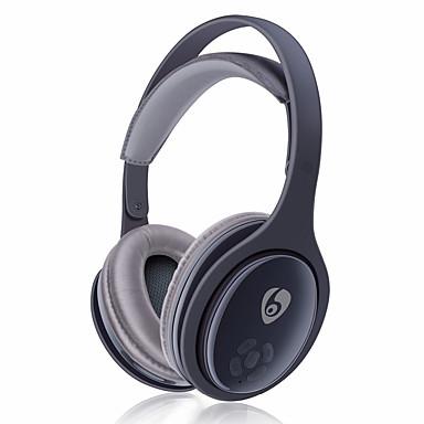 OVLENG MX555 ヘッドホン(ヘッドバンド型)Forメディアプレーヤー/タブレット 携帯電話 コンピュータWithマイク付き DJ ボリュームコントロール FMラジオ ゲーム スポーツ ノイズキャンセ Hi-Fi 監視 Bluetooth
