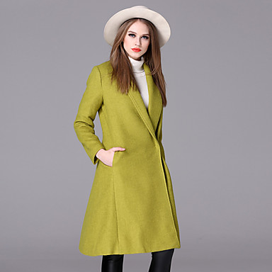 allekirjoittaa uusi talvi 2016 naisten&# 39; s european leg temperamentti pitkä jakso villa takki villa takki naisen