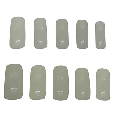 500 шт натуральный цвет полные советы ногтей акриловыми ногтей подсказки искусства