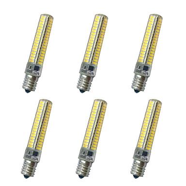850-900LM E14 / E11 / E17 LEDコーン型電球 T 136LED LEDビーズ SMD 5730 装飾用 温白色 / クールホワイト 220V / 110V