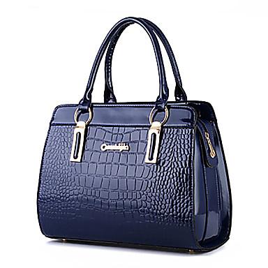 Damen Taschen PU Tragetasche / Umhängetasche Schleife / Rüschen Hellblau / Königsblau / Lavendel