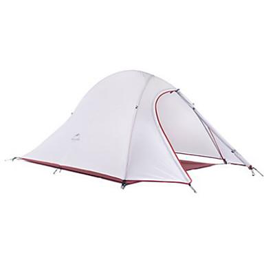 Naturehike 2 henkilöä Teltta Kaksinkertainen teltta Retkeilyteltat Kosteuden kestävä Hengitettävyys Erikoiskevyt(UL) 4 Vuodenaika varten