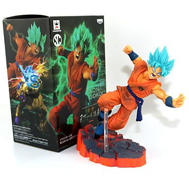 Figure Anime Azione Ispirato Da Dragon Ball Son Goku Pvc 14 Cm Cm Giocattoli Di Modello Bambola Giocattolo #05466831