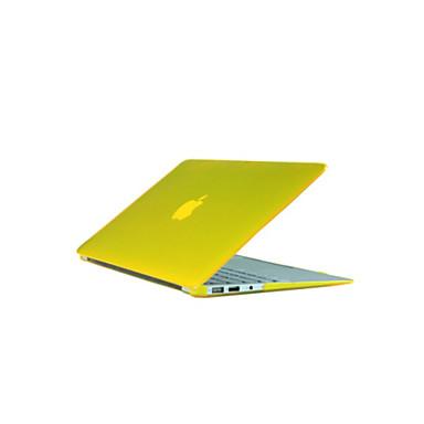 """billige Apple-tilbehør-MacBook Etui Fullbody Etuier Ensfarget / Gjennomsiktig ABS til MacBook Pro 13 """" / MacBook Air 11 """" / MacBook Pro 13 """" med Retina-display"""