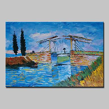 Handgemalte Berühmte Horizontal, Klassisch Traditionell Segeltuch Hang-Ölgemälde Haus Dekoration Ein Panel