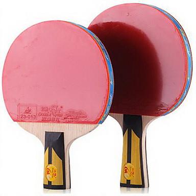 6 Stars Ping Pang/Table Tennismailat Ping Pang Puuta Pitkä kahva Näppylöitä