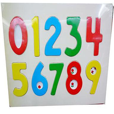 Holzpuzzle Bildungsspielsachen Quadratisch Neuartige Holz Kindertag