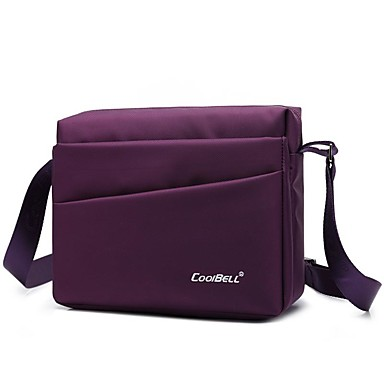男性と女性のためのcoolbell 9インチメッセンジャーバッグ、毎日の使用のためのシングルショルダーバッグcb-3001