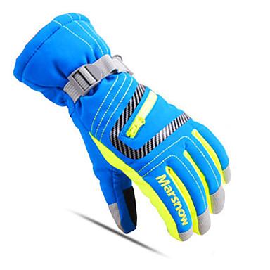 Ski-Handschuhe Vollfinger Alles Sporthandschuhe warm halten Atmungsaktiv Skifahren Freizeit Sport Baumwolle Winterhandschuhe Skihandschuhe