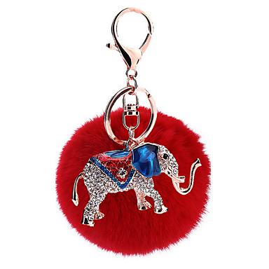 Avainketju Sfääri Elefantti Avainketju Metalli