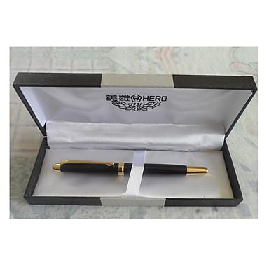 Kugelschreiber Stift Füllfederhalter Stift,Metal Schwarz Tintenfarben For Schulzubehör Bürobedarf Packung