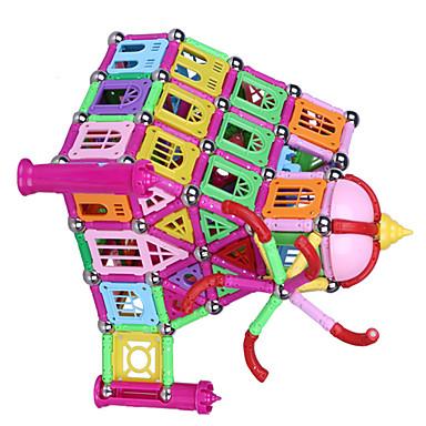 Magnetisches Spielzeug Magnetsticks Bausteine Magnetische Fliesen Bildungsspielsachen 1pcs Burg Architektur Magnetisch Neuartige Kreativ