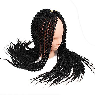 Island Twist 100% kanekalon hair Pre-loop Crochet Braids / Hair Accessory / Human Hair Extensions Hair Braids Daily