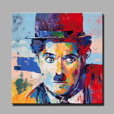 手描きの抽象的な/抽象的な肖像画の油絵一つのパネルのキャンバスの油絵