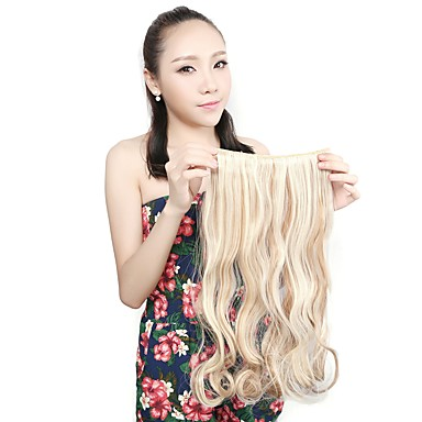 Fabric Hair Extension Wavy Classic Clip In Daily High Quality