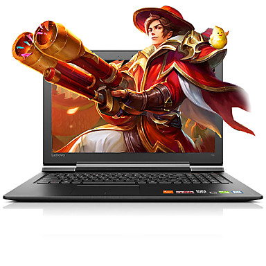 Lenovo Bærbar notisbok 15.6 tommers LED Intel i7 i7-6700 8GB 500GB GTX950M 4 GB Windows 10
