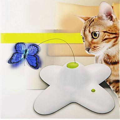 Lockspielzeug für Katzen Eletrisch / Schmetterling Kunststoff Für Katze / Kätzchen