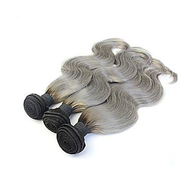Cheveux Brésiliens Ondulation naturelle Tissages de cheveux humains 3 Pièces 0.3