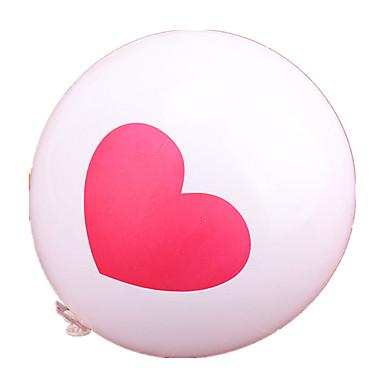 Bälle Ballons Spielzeuge Kreisförmig Herzförmig Neuheit Jungen Mädchen 1 Stücke