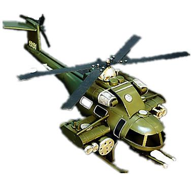 Toimintafiguurit ja pehmolelut näytöllä varustetun mallin Helikopteri Lelut Taistelija Helikopteri Retro Sisustustarvikkeet Poikien