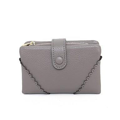 Damen Brieftasche PU Alltag
