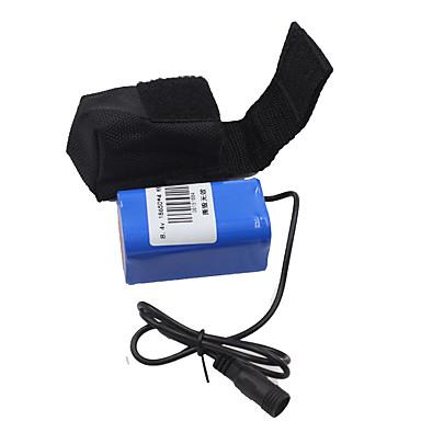 batteri Sykkellykter Sykling Oppladbar, Kompaktstørrelse 18650 DC-drevet Sykling / Utendørs