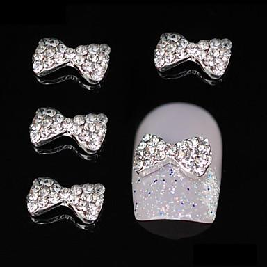 10 buc sclipici stras papion drăguț DIY accesorii din aliaj de unghii arta decorativa