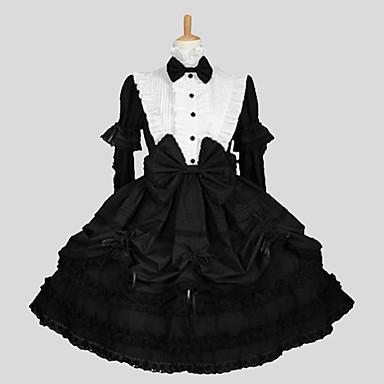 Niedlich Prinzessin Damen Einteilig Kleid Cosplay Langarm