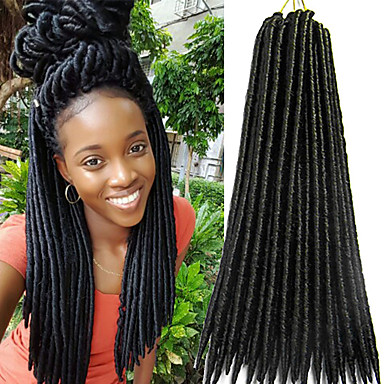 Crochet Faux Dreads Hair Braids Search Lightinthebox
