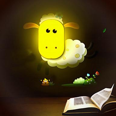 9*6*14CM Fun To Play With Creative Spirit Intelligent Light-Control Small Night Light Children Room Wall Lamp Led Lights