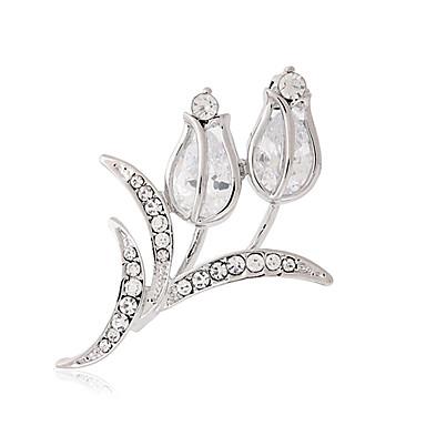 Damen Broschen Luxus Modisch Diamantimitate Schmuck Für Hochzeit Party Alltag Normal
