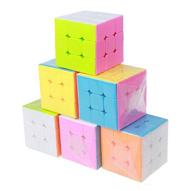 Rubik's Cube 3*3*3 Cubo Macio de Velocidade Cubos mágicos Cubo Mágico Clássico Dom Fun & Whimsical Clássico Para Meninas