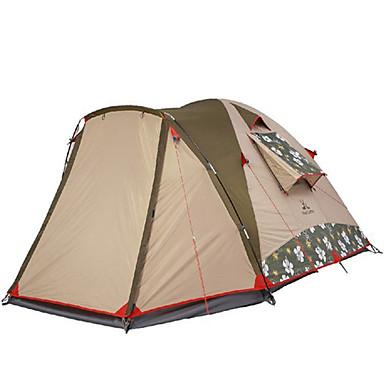 MOBI GARDEN 3-4 henkilöä Teltta Kolminkertainen teltta Yksi huone Perheteltat Pidä lämpimänä Vedenkestävä Kannettava Tuulenkestävä
