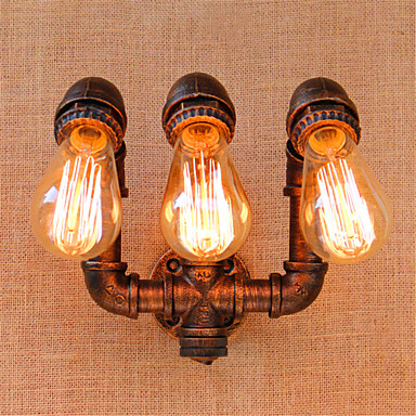 Rústico / Campestre / Regional Luminárias de parede Metal Luz de parede 110-120V / 220-240V 40 W / E27